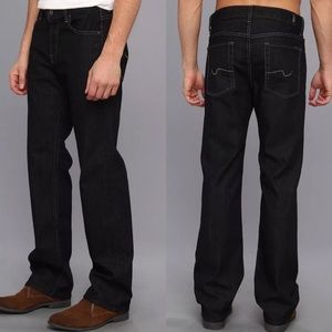 7 For All Mankind Relaxed Mens Dark Jeans 28 29 30